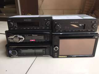 Car radio Usb CD player Sony kenwood pioneer