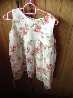 Lovely lace floral dress