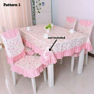 Table Cloth n Chair Cover