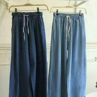 Denim Pants Light Blue