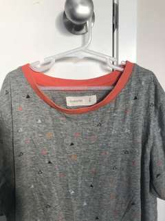 GLASSONS TRIANGLE TEE SIZE S