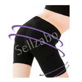 #A4 : Black Colour Tummy Thighs Inner Corset Under Pants Sellzabo Slim Slimming Daily Wear Sellzabo Best Sellers