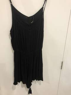 Black play suit