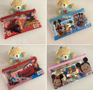 Pencil case set / goody bag, donation gift, event door gift