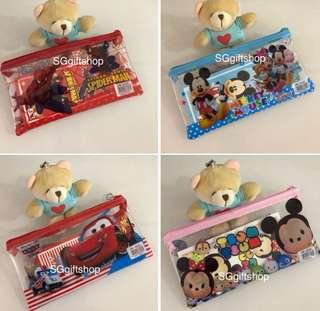 Pencil case set / goody bag, donation gift, event door gift
