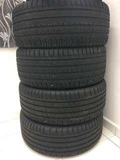 4 biji tyre untuk dijual size 20 inch