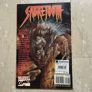 SABRETOOTH Marvel Comics