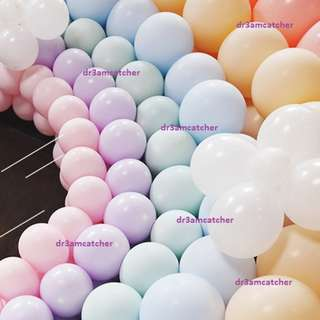 "sweet pastel 10"" latex balloons (good quality!)"