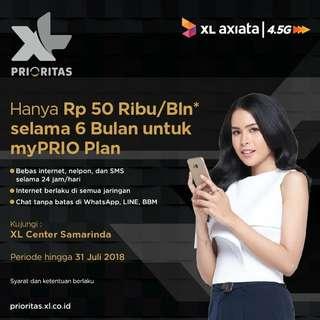 Perdana XL pascabayar prioritas