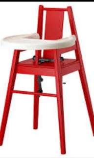 BLAMĖS High Chair With Tray