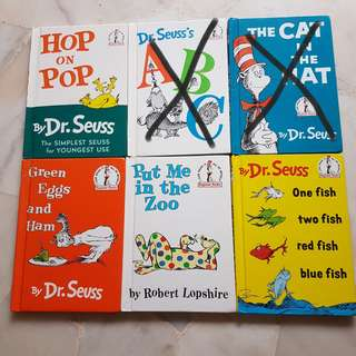 Preloved Dr Seuss Children's Books