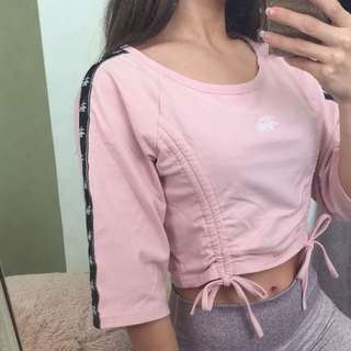 Stussy cropped top size 10
