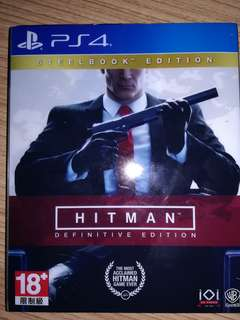 Ps4 hitman steelbook definitive edition