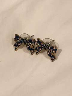 J Crew Bow Earrings