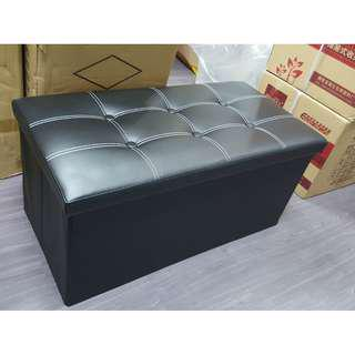 PU large Black foldable storage box