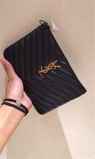 Gucci pouch clutch bag