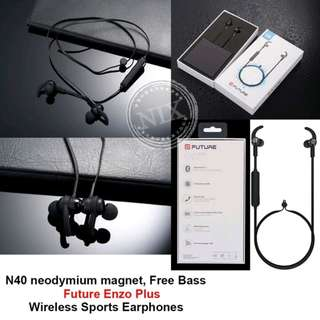 Future Enzo Plus Bass Sports Wireless Earphone Headset