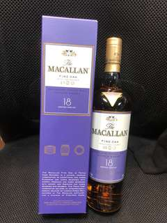 Macallan 18 fine oak (12 支起)