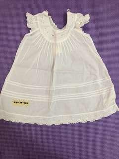 Newborn White Blouse