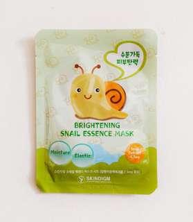 Skindigm Snail Essence Mask