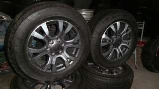Ford Ranger Wildtrak StockTyres and Rims
