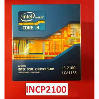 FOR SALE! CORE I3 2100 PROCESSOR