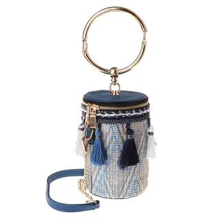 Barrel Straw Bag 🌙