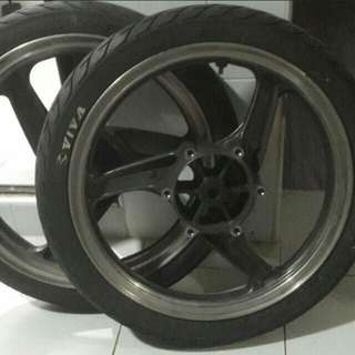 KR rims and tyres
