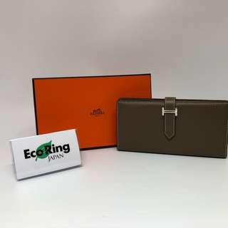 Hermes Bearn Long Wallet [X] Etoupe 長銀包 大象灰 100%真品