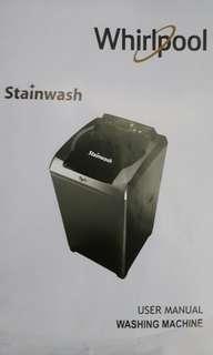 Whirlpool WTW750AF Washing Machine