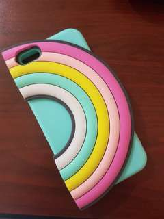 Iphone 6/ 6s Rainbow Casing with Card Holder