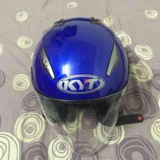 KYT Hellcat Biru Yamaha