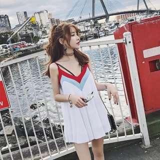Sweet Summer Pleated Dress
