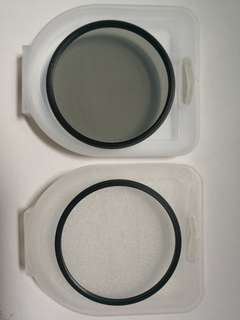 72mm UV & CPL Filters