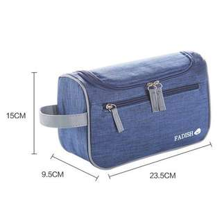 Frosted Travel Toiletry Bag