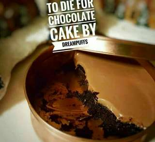 """TO DIE FOR CHOCOLATE CAKE"""