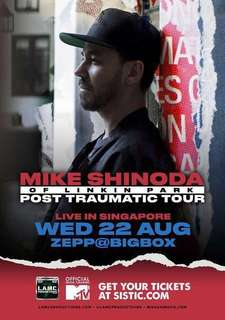 Mike Shinoda Post Traumatic Tour Ticket + Priority Entry