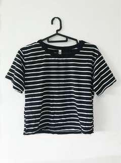 SALE | Striped Crop Top