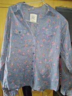 I Love EightyOne floral Shirt