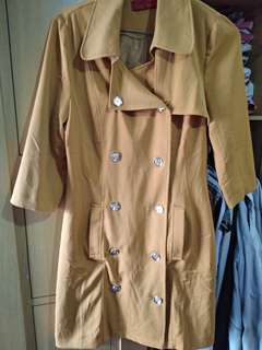 SoleMio Mustard Coat