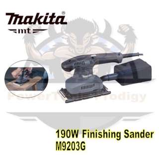 [NEW] MAKITA MT SERIES M9203G FINISHING SANDER WITH DUST BAG FUNCTION
