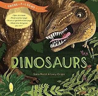 Shine-A-Light Dinosaur Book