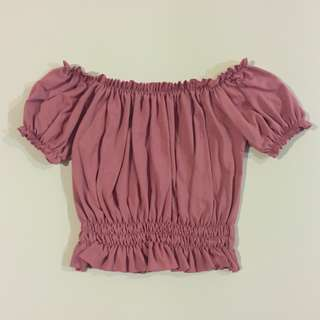 Old Rose Lulu Top
