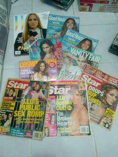 Jennifer lopez jlo magazines
