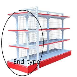 Gondola Mesh Rack (End-type for Double-sided Mesh Rack)