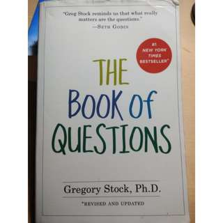 The Book of Questions -  Gregory Stock,  Ph.D.