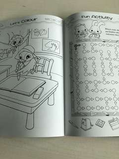 Coloring n activity book