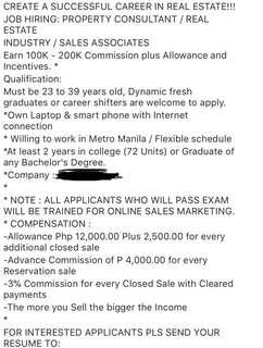 hiring business partners!