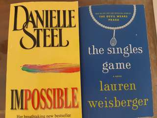 Danielle Steel & Lauren Weinberger Books