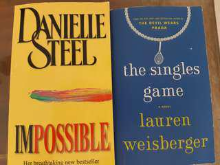 Danielle Steel & Lauren Weinberger Books